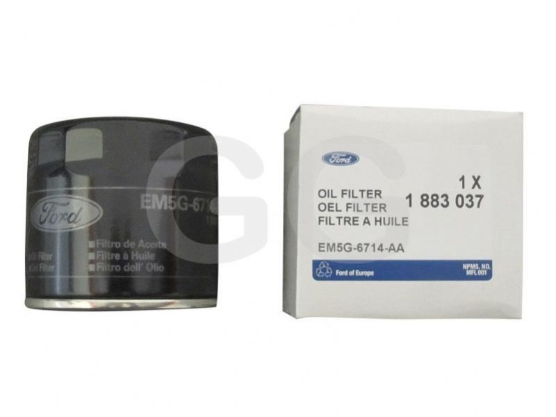 Oil Filter Fiesta ST180 1.6T Genuine Ford Cannister Type Screw On GGF5004